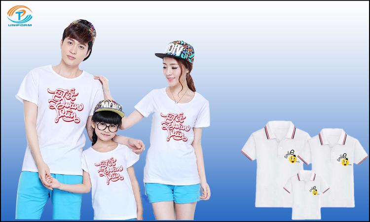 in Logo áo gia đình
