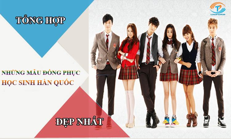 Những mẫu đồng phục học sinh Hàn Quốc đẹp nhất
