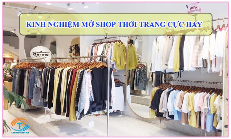 Kinh nghiệm kinh doanh shop thời trang