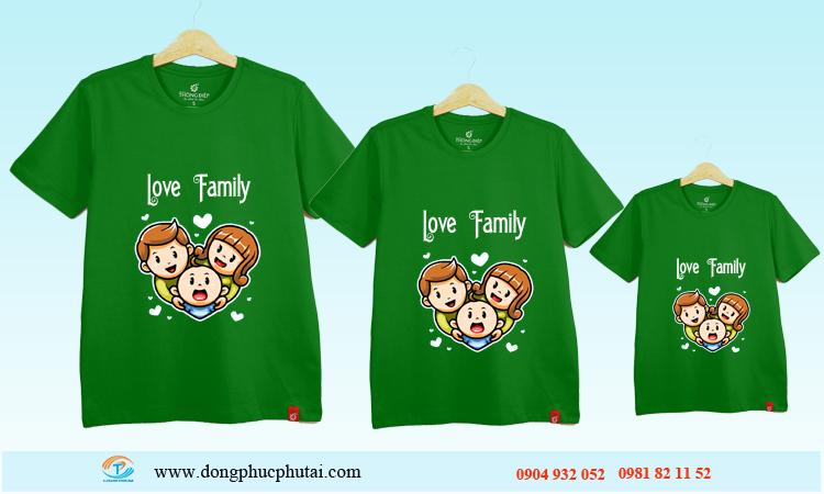 Áo cặp dành cho gia đình GD11