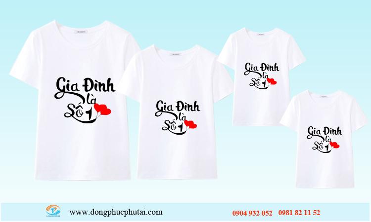 Áo cặp dành cho gia đình GD16