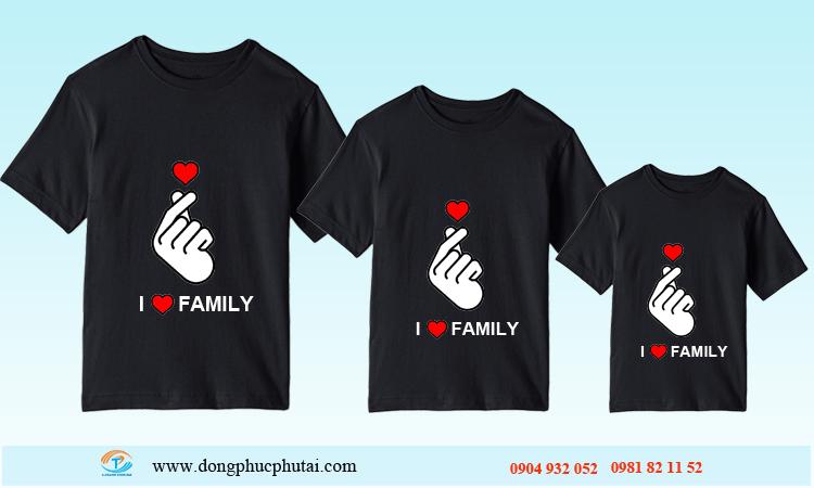 Áo cặp dành cho gia đình GD06