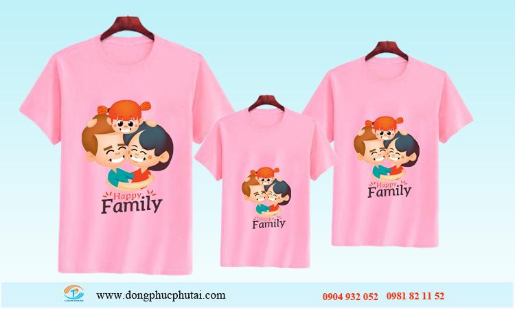 Áo cặp dành cho gia đình GD12