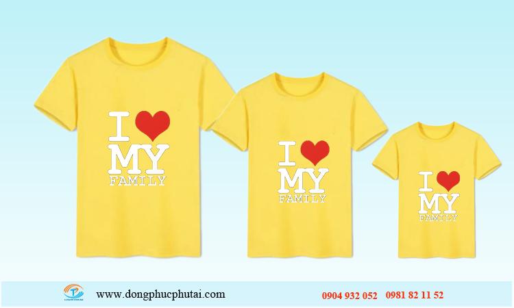 Áo cặp dành cho gia đình GD01