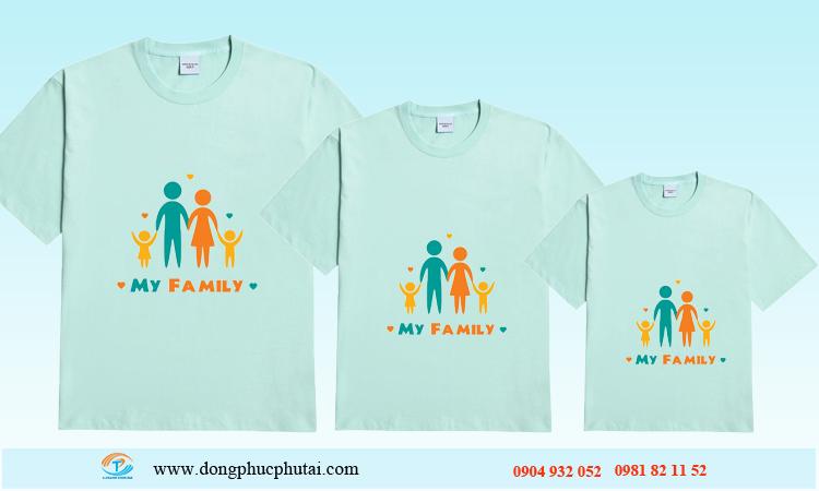 Áo cặp dành cho gia đình GD08